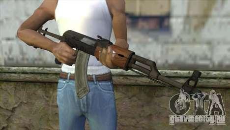 AKM Assault Rifle для GTA San Andreas третий скриншот