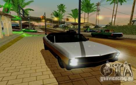 Albany Buccaneer из GTA 5 для GTA San Andreas вид справа