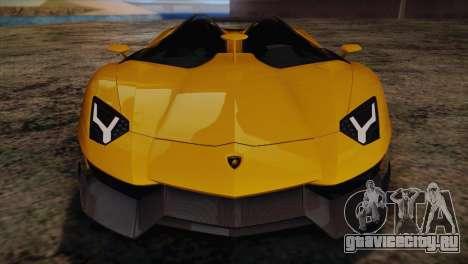 Lamborghini Aventandor J 2010 для GTA San Andreas салон