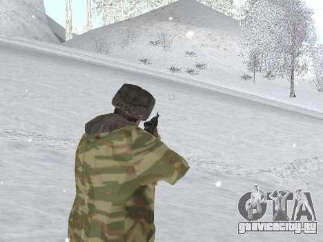 Пак русской армейской одежды для GTA San Andreas шестой скриншот
