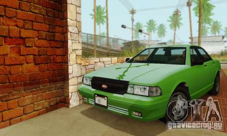 Vapid Stanier II 1.0 для GTA San Andreas