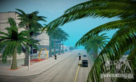 ENBSeries для слабых ПК для GTA San Andreas восьмой скриншот