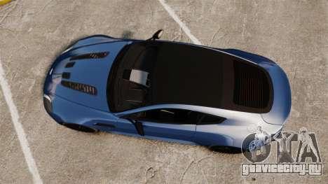 Aston Martin V12 Vantage S 2013 [Updated] для GTA 4 вид справа