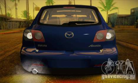 Mazda Axela Sport 2005 для GTA San Andreas вид изнутри