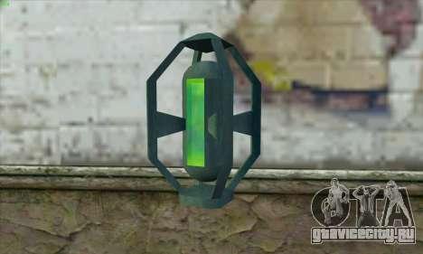 Greengoo alien liquid grenades для GTA San Andreas