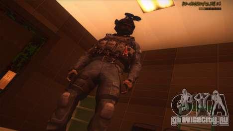 Sgt Keegan P.Russ из Call Of Duty: Ghosts для GTA San Andreas девятый скриншот
