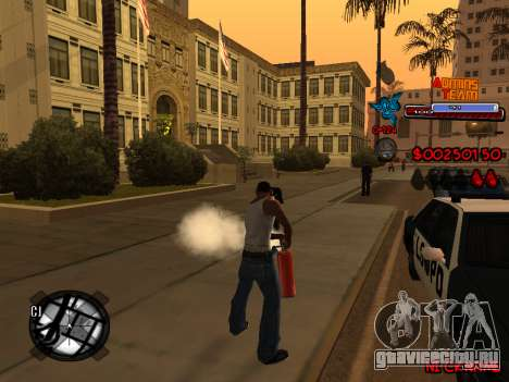 C-HUD Admins Team для GTA San Andreas девятый скриншот