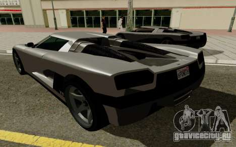 GTA 5 Overflod Entity XF для GTA San Andreas вид справа