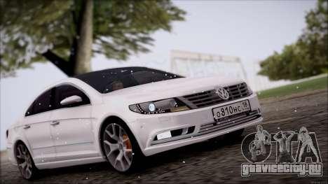 Volkswagen Passat CC для GTA San Andreas вид слева