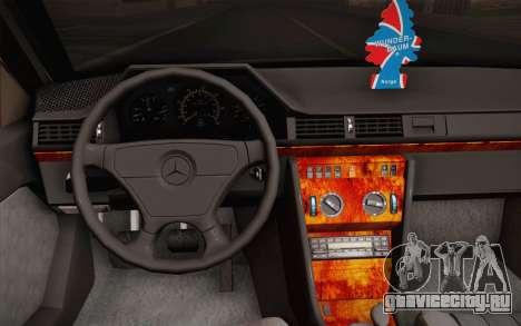 Mercedes-Benz E-Class W124 Kombi для GTA San Andreas вид сбоку