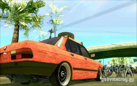 BMW M5 E28 RatStyle для GTA San Andreas вид сбоку