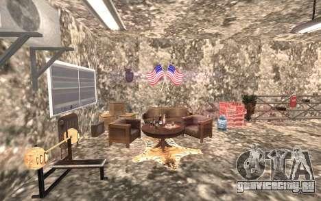 Подвал дома Карла для GTA San Andreas третий скриншот