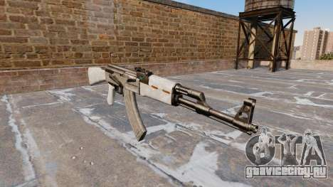 Автомат АК-47 ACU Camo для GTA 4