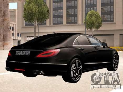 Mercedes-Benz CLS350 2012 для GTA San Andreas вид справа