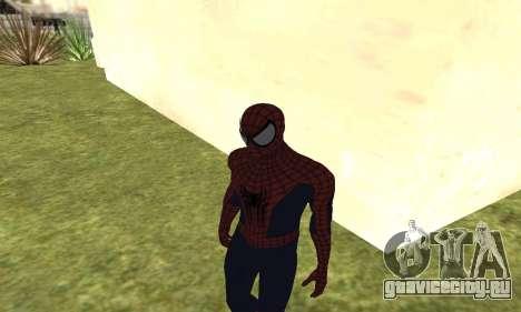 Новый человек-паук для GTA San Andreas четвёртый скриншот