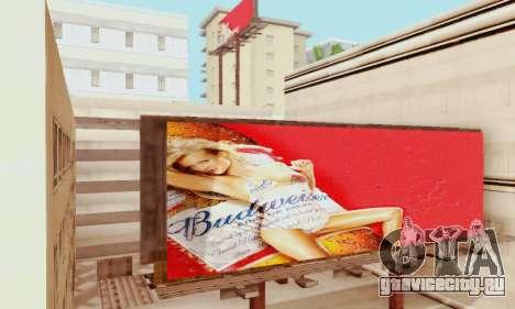 Новая качественная реклама на плакатах для GTA San Andreas