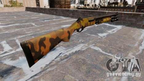 Помповое ружьё Remington 870 Fall Camos для GTA 4 второй скриншот