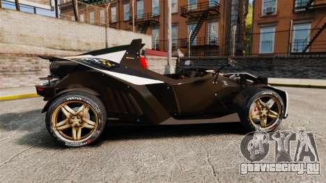 KTM X-Bow R [FINAL] для GTA 4 вид слева