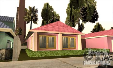 Новый дом Милли для GTA San Andreas третий скриншот