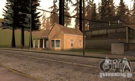 Новый дом Сиджея в Angel Pine для GTA San Andreas