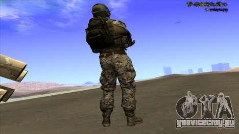 U.S. Navy Seal для GTA San Andreas второй скриншот