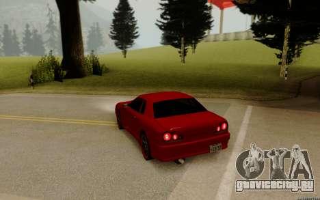 Elegy Tokyo для GTA San Andreas вид сзади слева
