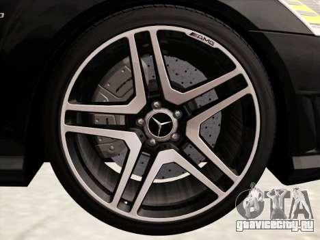 Mercedes-Benz S65 AMG 2012 для GTA San Andreas вид сверху
