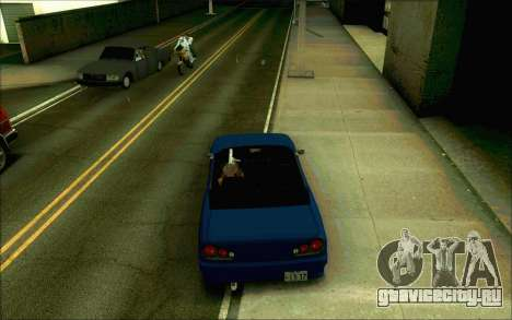 Elegy Tokyo Кабриолет для GTA San Andreas вид сзади слева