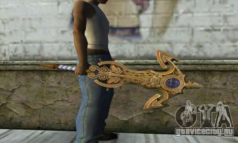 Dragon Nest Warrior Marine Sword для GTA San Andreas второй скриншот