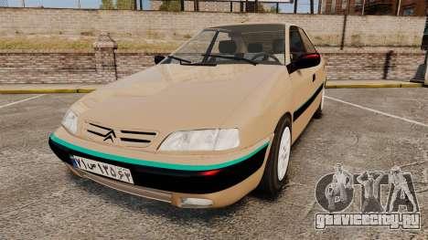 Citroen Xantia для GTA 4