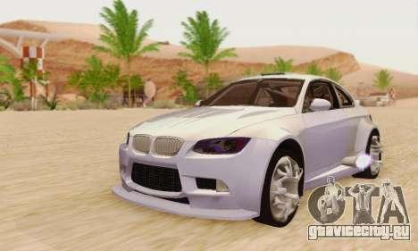 BMW M3 E92 SHD Tuning для GTA San Andreas