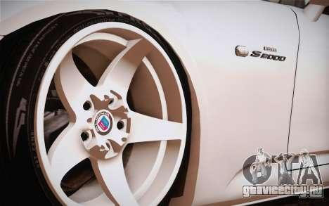 Honda S2000 Edit для GTA San Andreas вид сзади слева