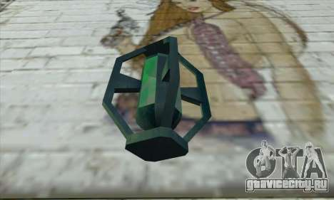 Greengoo alien liquid grenades для GTA San Andreas второй скриншот