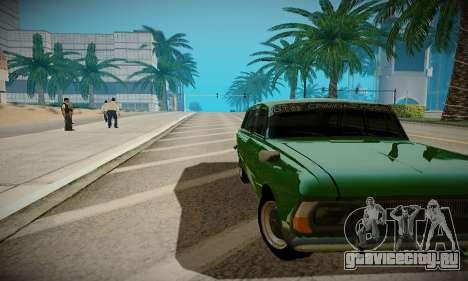 ENBSeries для слабых ПК для GTA San Andreas седьмой скриншот
