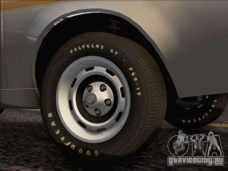 AMC Gremlin X 1973 для GTA San Andreas вид сзади слева