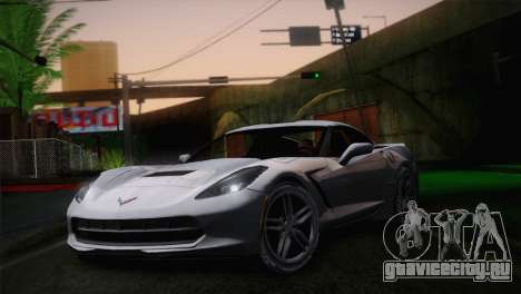 Chevrolet Corvette C7 для GTA San Andreas