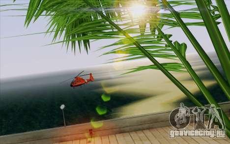 IMFX Lensflare v2 для GTA San Andreas восьмой скриншот