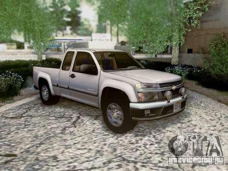 Chevrolet Colorado для GTA San Andreas вид сбоку