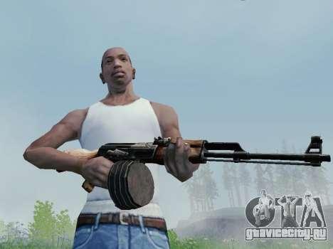 Ручной Пулемет Калашникова для GTA San Andreas