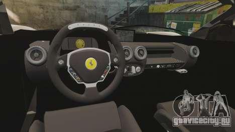 Ferrari LaFerrari v2.0 для GTA 4 вид изнутри