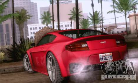GTA V Rapid GT для GTA San Andreas вид слева