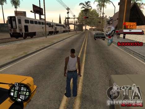 C-HUD Admins Team для GTA San Andreas третий скриншот