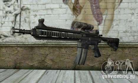 HK416 для GTA San Andreas