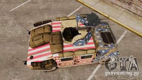 HMMWV M1114 Freedom для GTA 4 вид справа