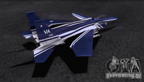 F-15S для GTA San Andreas вид слева