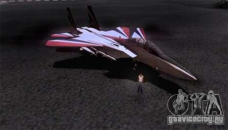 F-15S для GTA San Andreas салон