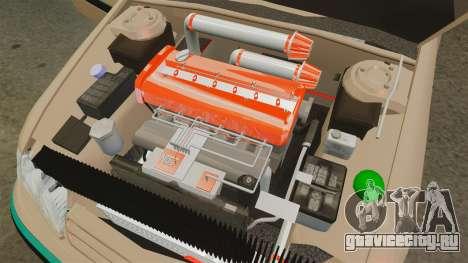 Citroen Xantia для GTA 4 вид изнутри