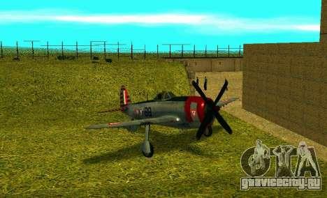 P-47 Тандерболт для GTA San Andreas
