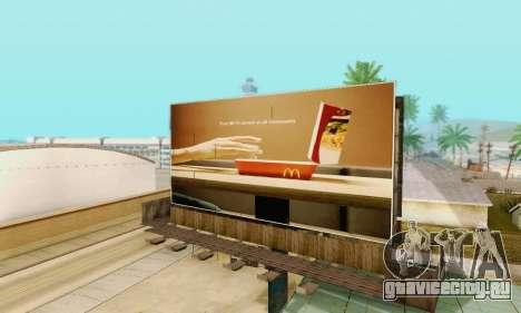 Новая качественная реклама на плакатах для GTA San Andreas двенадцатый скриншот