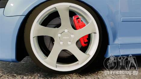 Audi S3 EmreAKIN Edition для GTA 4 вид сзади